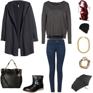 Outfit Regnerischer Shopping-Tag von lookfurther
