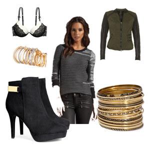 Outfit black hipster  von Sophie Louisa Schmidt