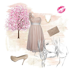 Outfit Sommerbeige von Mistery S.