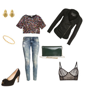 Outfit sparkleparty von Hannah Maral