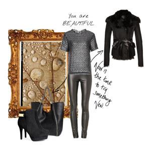 Outfit black von Markéta