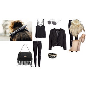 Outfit Black von Jacky Dietz
