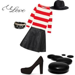Outfit stripeez von sofiakrajewski