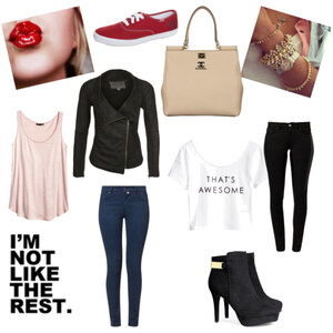 Outfit I'm not like the rest von Julia Wandrei
