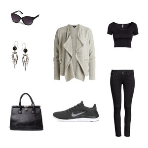 Outfit sport meets chic von seraphina.p