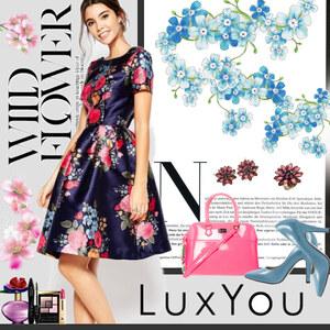 Outfit flower power von Ania Sz