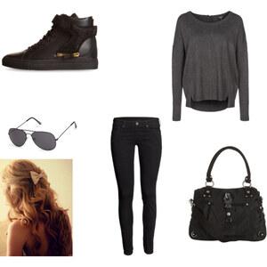 Outfit das schwarze ! von Mehlika Sultan