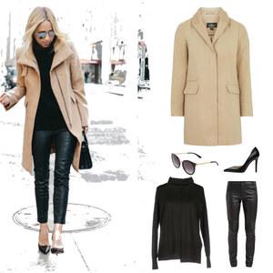 Outfit Camel Trend von Natasa