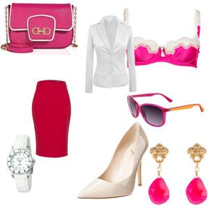 Outfit pretty in pink von Jolanda Faggiano