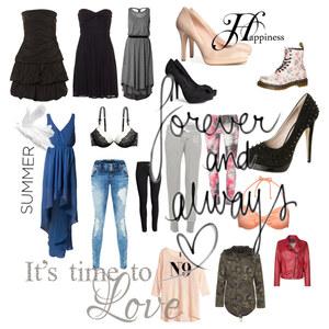 Outfit forever & always♥ von Vivienné