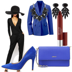 Outfit Black and Blue  von Natze Kan