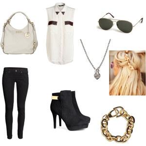 Outfit der einfache style von Mehlika Sultan