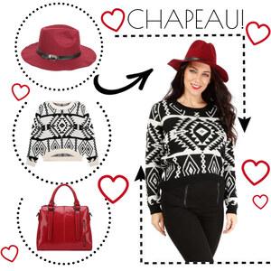 Tenue Chapeau! sur Lesara
