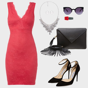 Outfit Statement in red! von marcela