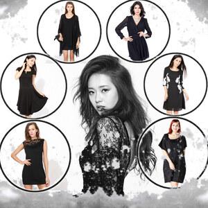 Tenue la petite robe noire sur Lesara