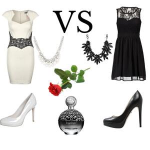 Outfit Black VS White von Rose22