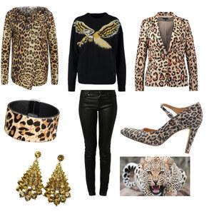 Outfit Leopard  von Rose22