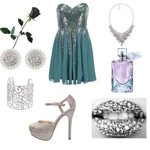 Outfit Glitzer 3> von Rose22