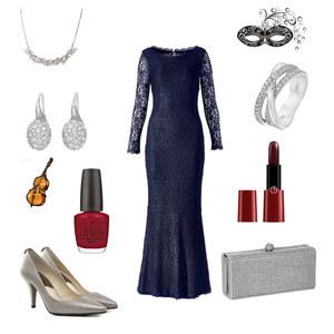 Outfit ein abend in der oper von Sharina D