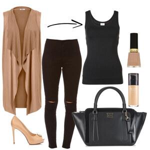 Tenue Beige and black sur Lili - Fashion Editor Glami