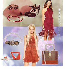 Outfit ASOS - Kleider im schicken Wildleder-Look! von anny