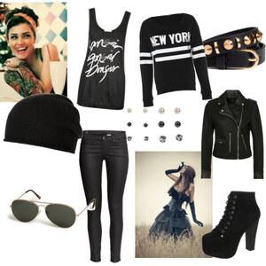 Outfit Rock ^^ von Sophie Fubel