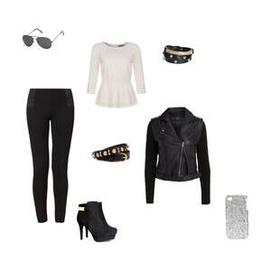 Outfit BLACK&WHITE! von jolinemuesse