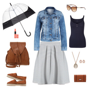 Outfit Frühlingsoutfit für jedes Wetter von Krista - Fashion Blogger Domodi
