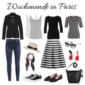 Outfit Wochenende in Paris von domodi