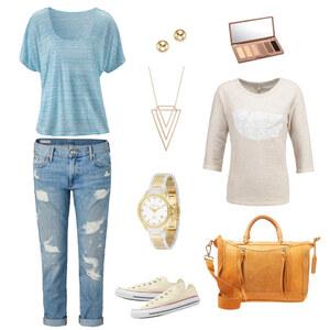Outfit Spaziergang von Krista - Fashion Blogger Domodi