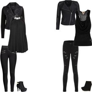 Outfit sexy Black von Lena Havana