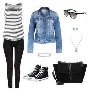 Outfit Leggins richtig tragen von Krista - Fashion Blogger Domodi