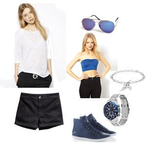 Outfit Blue von Ana