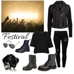 Outfit Festival  von anja.smilyface