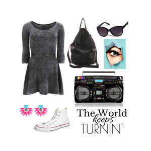 Outfit The World keeps Turnin' von alex_leonie