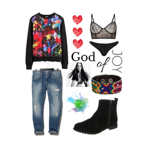Outfit God of Joy von alex_leonie