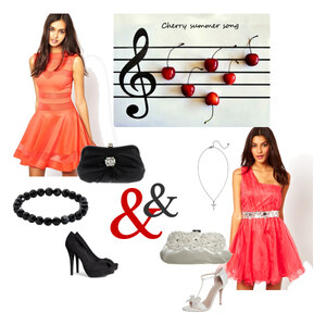 Outfit *Cherry summer song* von Alisa Lillifee
