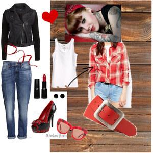 Outfit Rockabilly von A.N.N.A