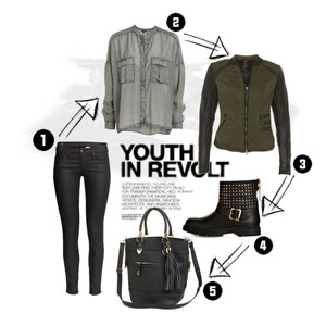 Outfit youth in revolt von Markéta