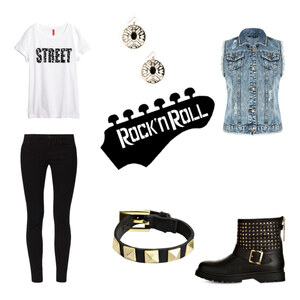Outfit Rock´n Roll von Bexx