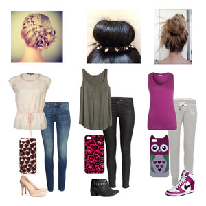 Outfit sweet/rock/chill von Lisa Bunzel