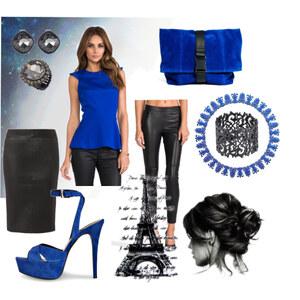 Outfit Blue Paris  von A.N.N.A