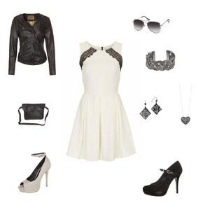 Outfit Black and White von debora