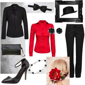 Outfit Selbst ist die Frau von A.N.N.A