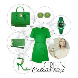 Outfit green von Markéta