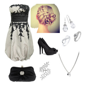 Outfit abend kleid von Melli Vogt