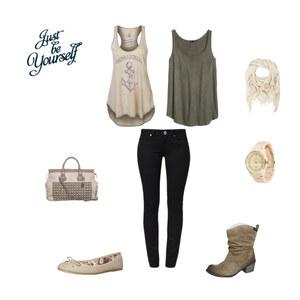 Outfit lässiger Frühlingstag :) von debora