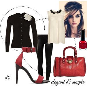 Outfit elegant & simple von eine_hexe