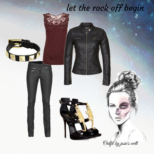 Outfit rock n' roll von sick World