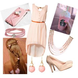 Outfit rosé von Lisa Bunzel